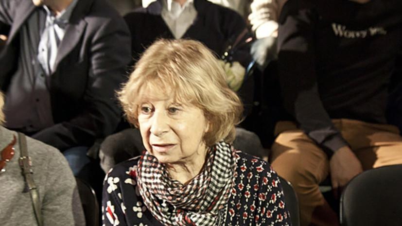 В «Современнике» рассказали о состоянии здоровьяАхеджаковой