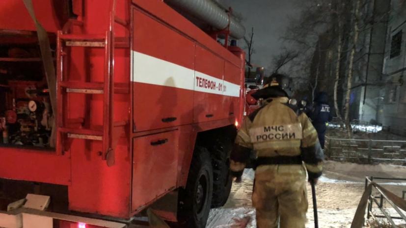 Прокуроры проводят проверку по факту пожара с погибшими в Хабаровске