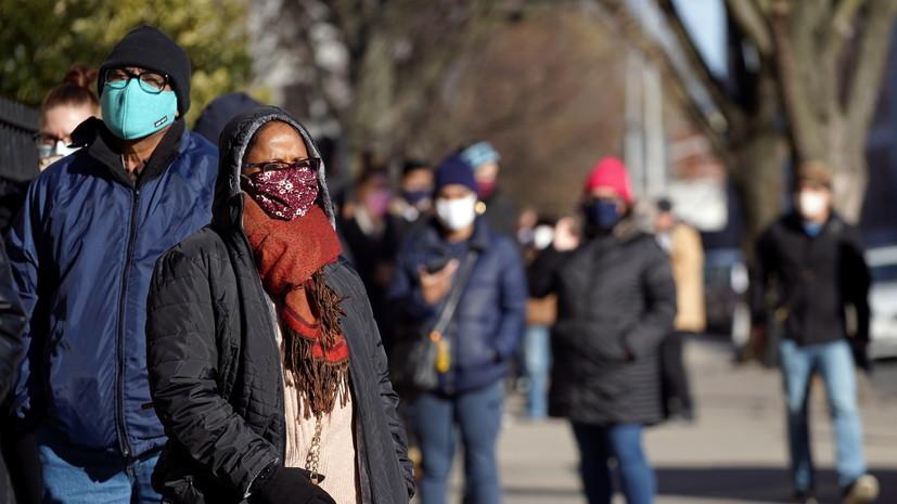В США число выявленных случаев коронавируса превысило 23 млн