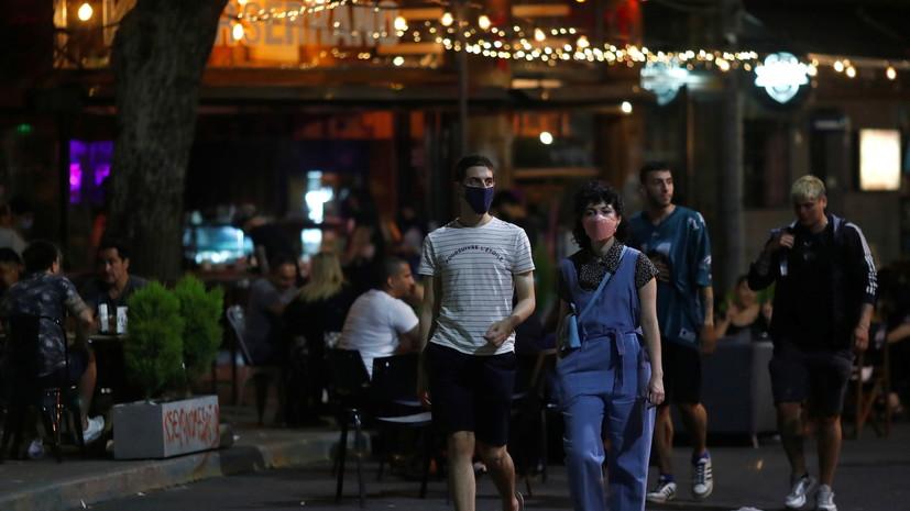 В Аргентине за сутки выявили 13 725 случаев коронавируса