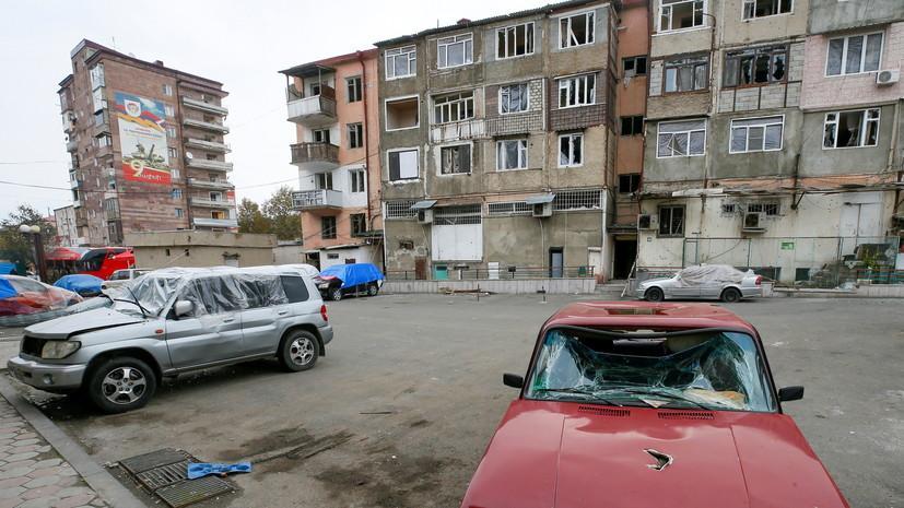 В МЧС России рассказали о ходе восстановления зданий в Карабахе
