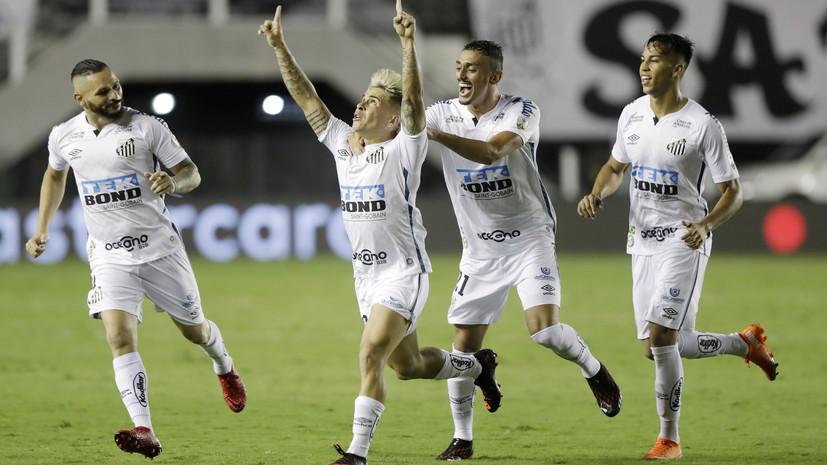 «Сантос» вышел в финал Кубка Либертадорес, где встретится с «Палмейрасом»