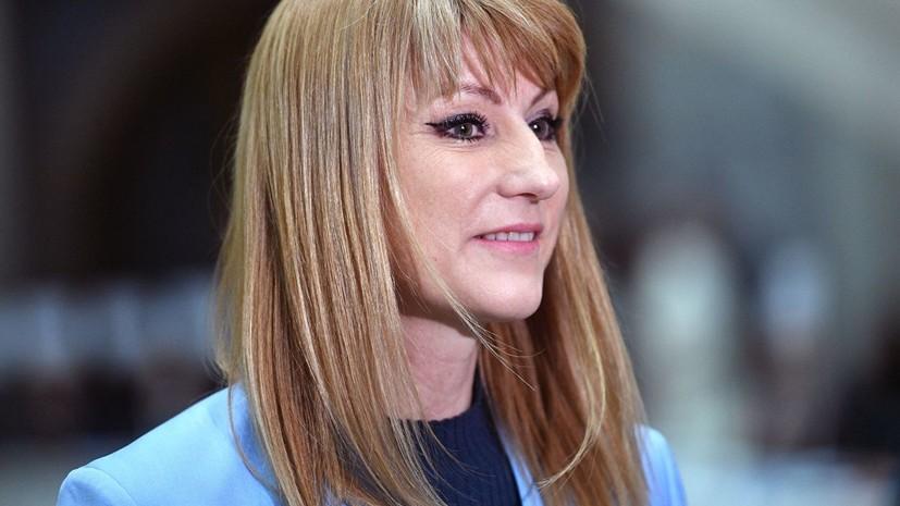 Журова высказалась о предложении использовать «Катюшу» вместо российского гимна на ЧМ и ОИ