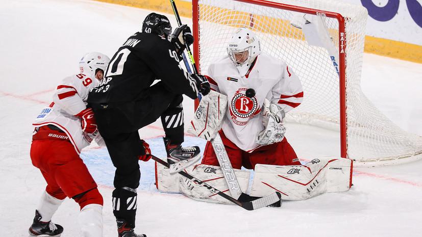 «Трактор» прервал серию поражений в КХЛ, обыграв «Витязь»