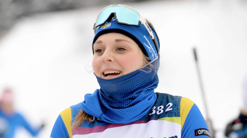 Бывшая лыжница Нильссон оценила свой дебют в биатлоне