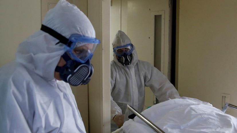 Больница №33 в Колпине приняла первых пациентов с COVID-19
