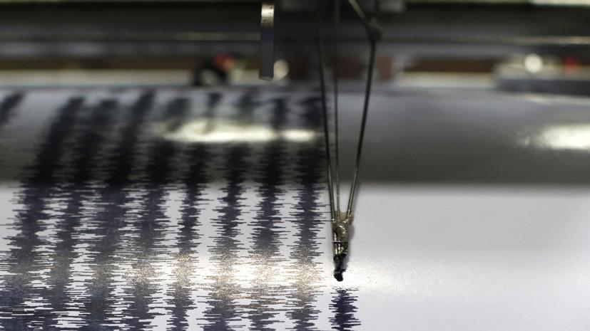 В Индонезии произошло землетрясение магнитудой 6,2