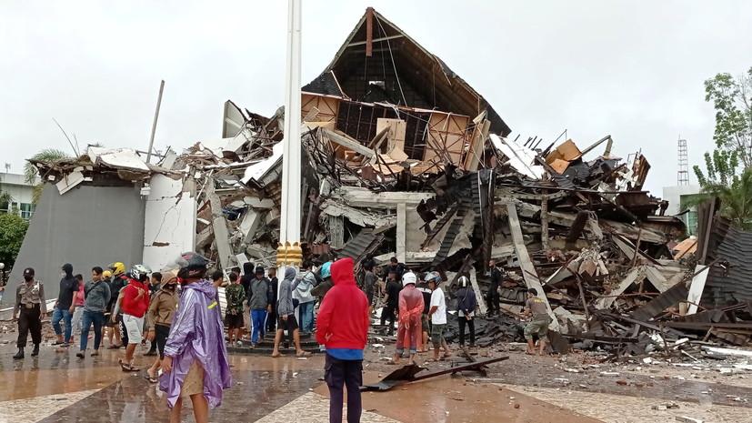 Число жертв землетрясения в Индонезии увеличилось до 26