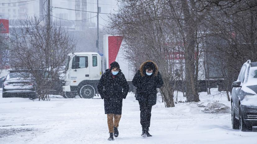 В Татарстане ожидается метель и снежные заносы