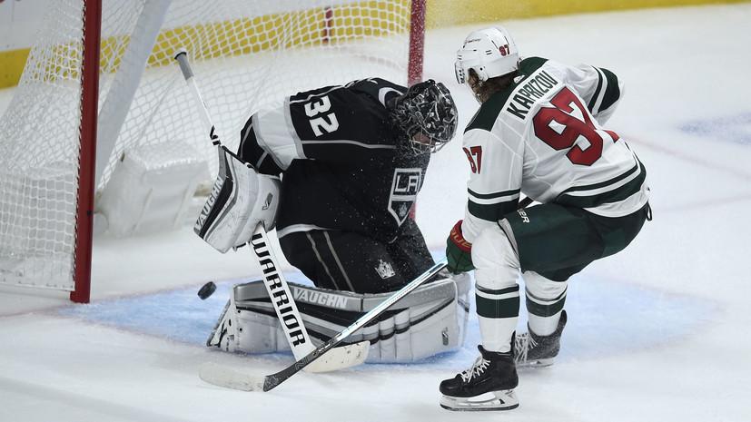 Тренер «Миннесоты» оценил дебют Капризова в НХЛ