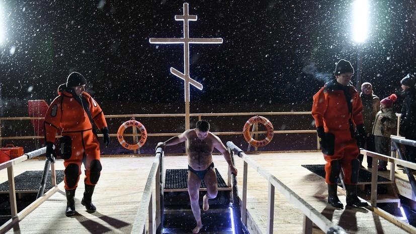 В Подмосковье на Крещение транспорт будет работать до 02:00