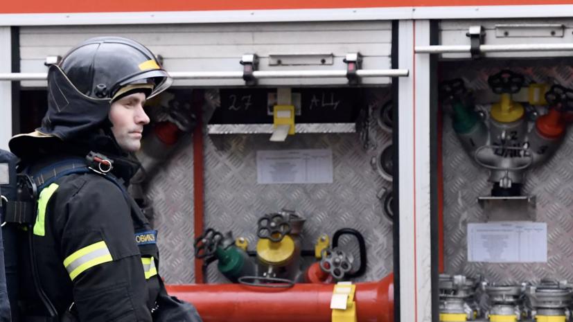 На северо-западе Москвы произошёл пожар в жилом доме