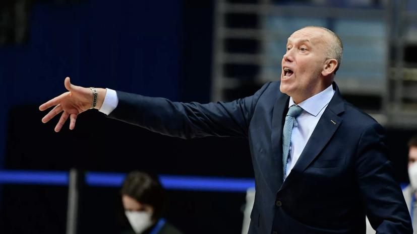 БК «Химки» уволил главного тренера