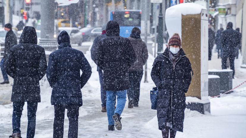 В Московском регионе ожидаются снегопад и метели