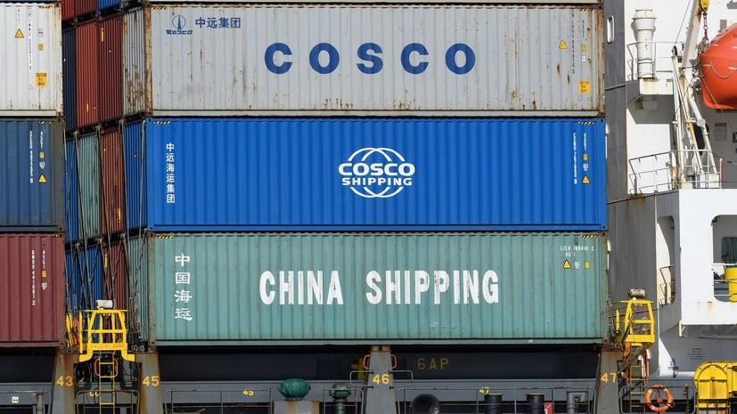 Трамп поручил правительству минимизировать закупки товаров из КНР