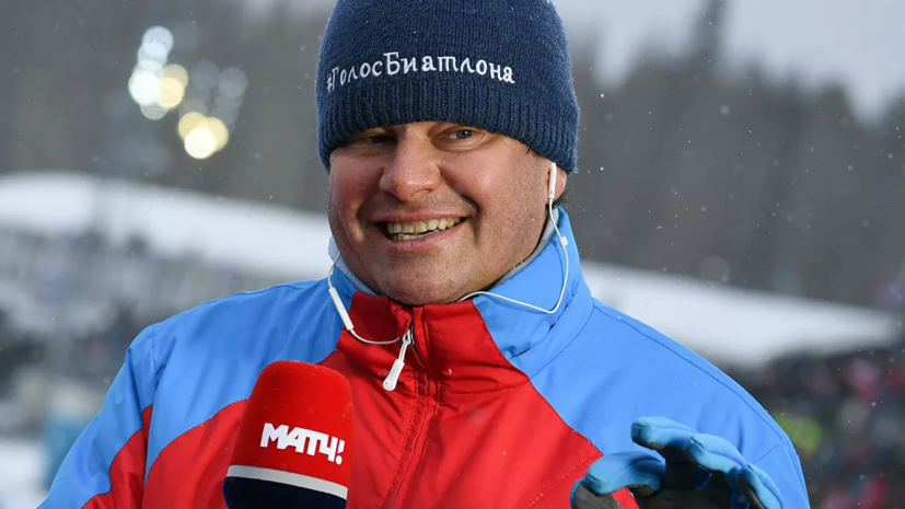 Губерниев заявил, что женской сборной России по биатлону нужна Акимова