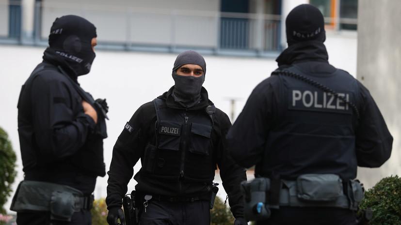 Полиция рассказала об операции в аэропорту Франкфурта