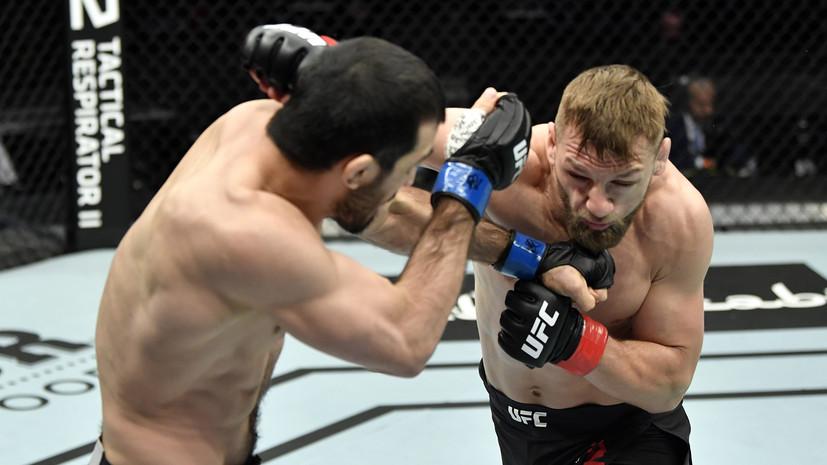 Эмеев победил Заваду на турнире UFC Fight Night Island 7