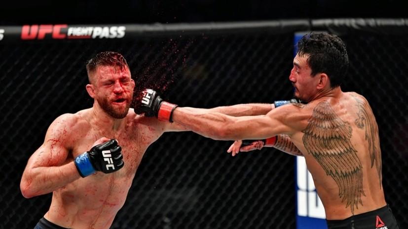 445 значимых ударов Холлоуэя, победа Эмеева и сенсационное поражение Бакли: чем запомнился UFC Fight Island 7