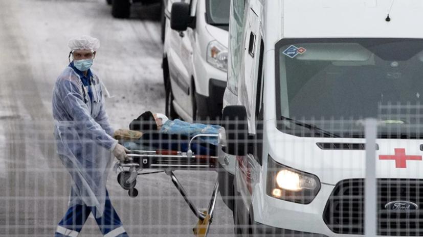 В России за сутки выявили23 586 случаев коронавируса