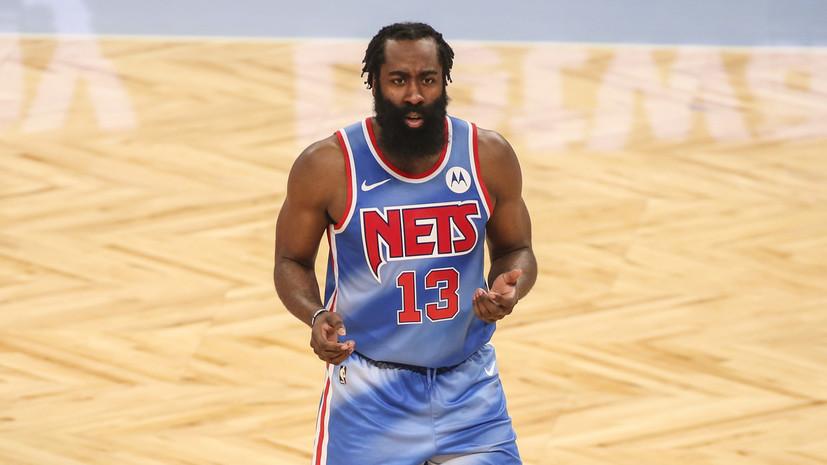 Харден установил несколько рекордов в дебютном матче за «Бруклин»