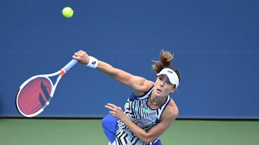 Теннисистка Корне назвала сумасшествием ситуацию с карантином на Australian Open