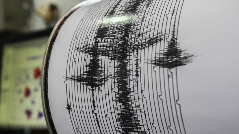 Землетрясение магнитудой 5,5 произошло на Камчатке