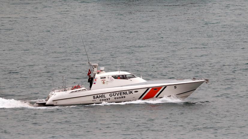 Число спасённых с затонувшего в Турции сухогруза возросло до шести