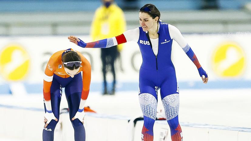 Противоречивый финал: Голикова отстояла серебро на ЧЕ по конькобежному спорту, Муштаков упустил медаль