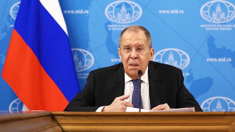 Перемены в руководстве США, цензура соцсетей и инцидент с Навальным: Лавров — о вызовах для МИД в 2020 году