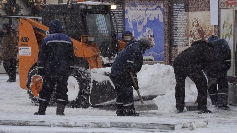 В Москве убрали с улиц свыше 1 млн кубометров снега