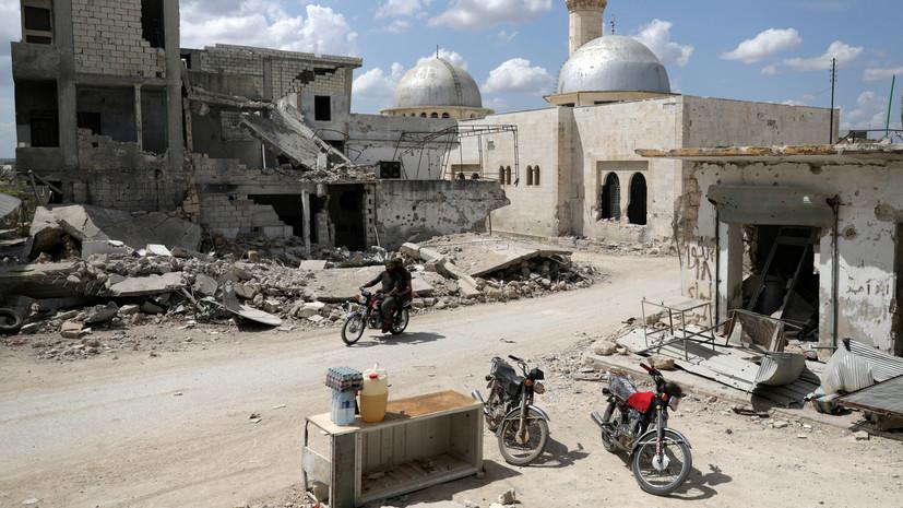 Террористы совершили 16 обстрелов в идлибской зоне деэскалации в САР