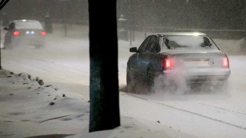 В Центральной России ожидаются обильные снегопады