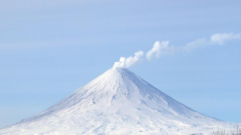 Посёлок на Камчатке присыпало вулканическим пеплом