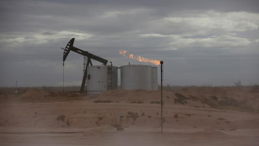 Цена на нефть марки Brent растёт в ходе торгов