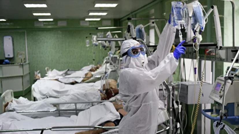 В России за сутки выявили 21 734 случая коронавируса