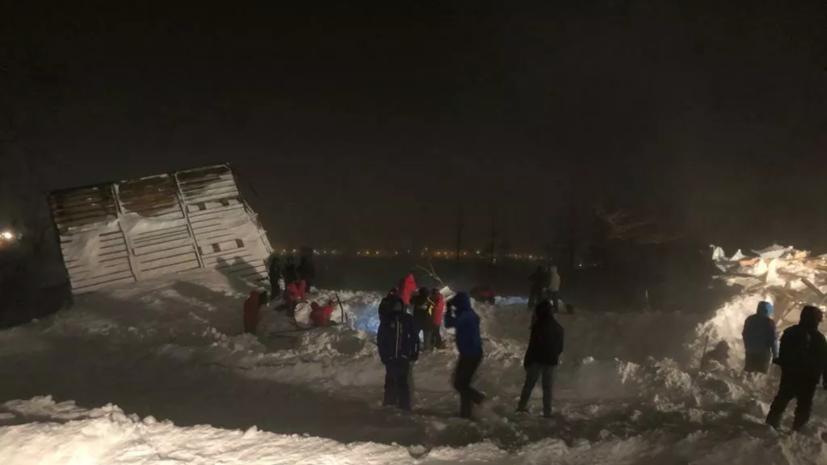 Ещё одно дело о халатности возбуждено после схода лавины в Норильске