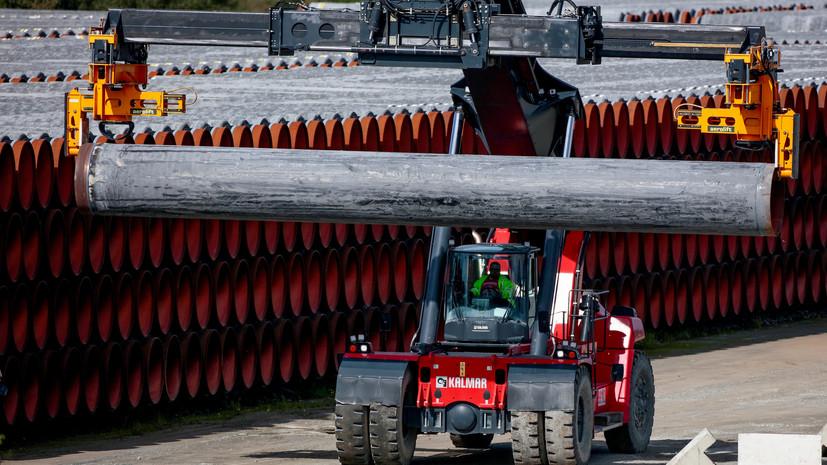 США ввели санкции против трубоукладчика «Северного потока — 2»