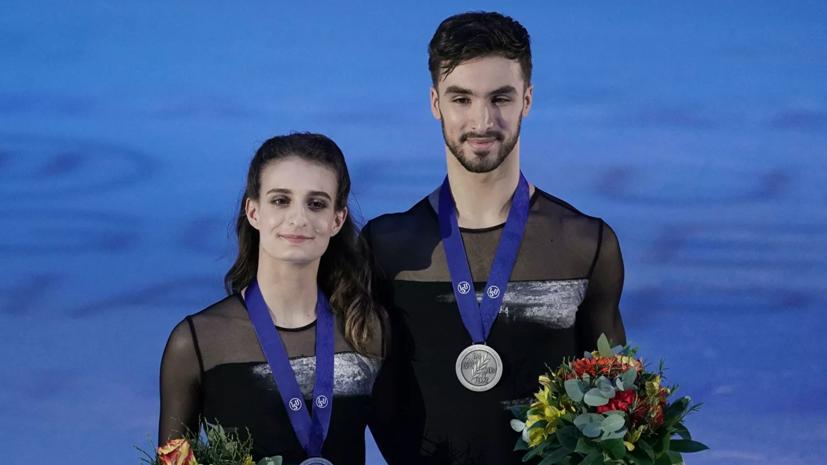 Фигуристы Пападакис и Сизерон не выступят на чемпионате мира