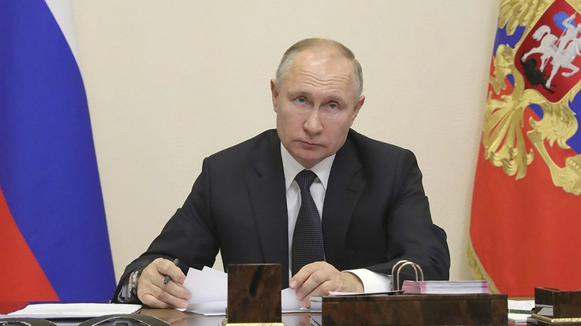 Путин обсудил с президентом Боливии сотрудничество в борьбе с COVID-19