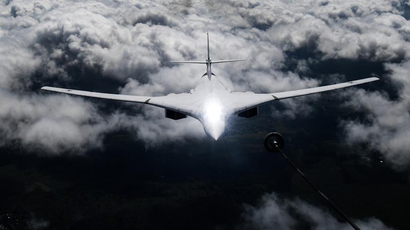 Два Ту-160 выполнили полёт над Баренцевым и Белым морями
