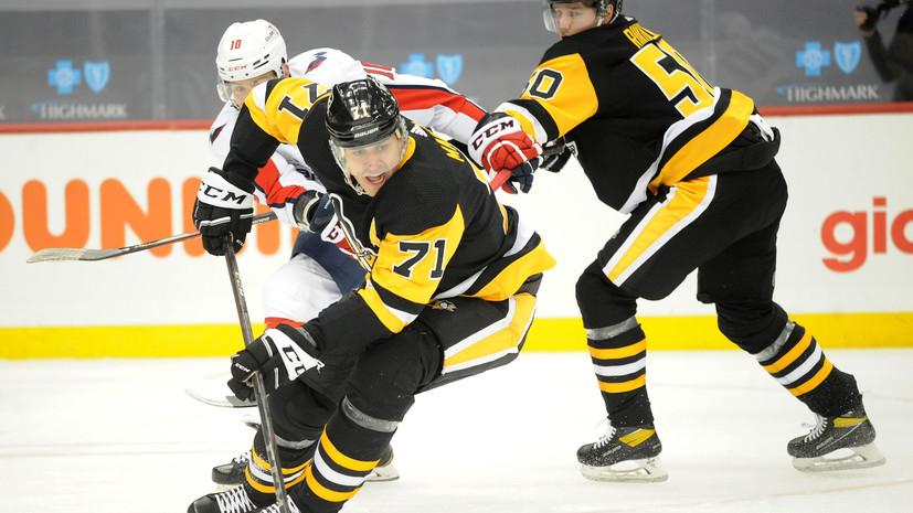Малкин вышел на шестое место в НХЛ по числу голов в большинстве среди европейцев