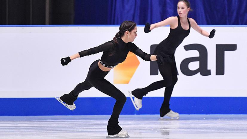 Медведева и Загитова стали капитанами на командном турнире в Москве