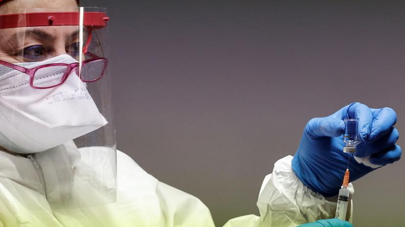 В Турции более 1 млн человек привились от коронавируса