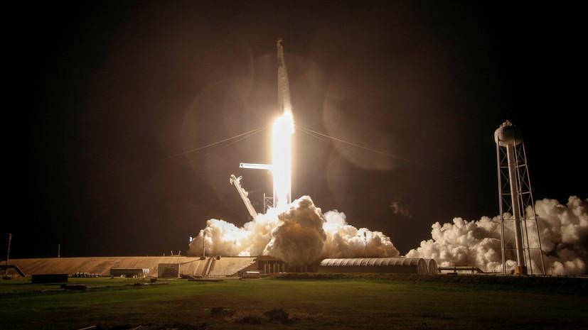 Ракета Falcon 9 со спутниками Starlink стартовала в США