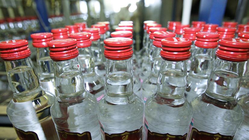 В Росстате сообщили о росте цен на водку