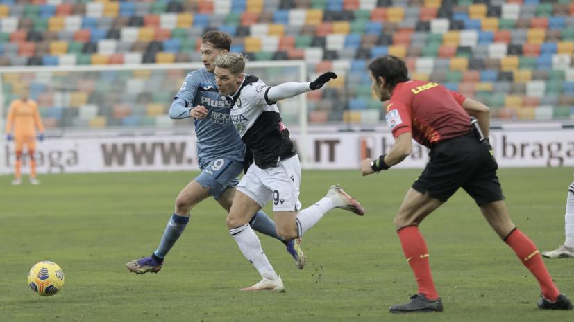 Гасперини объяснил, почему заменил Алексея Миранчука в матче с «Удинезе»