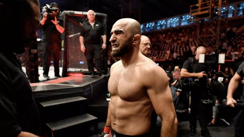 Ахмедов победил Бриза на UFC Fight Night