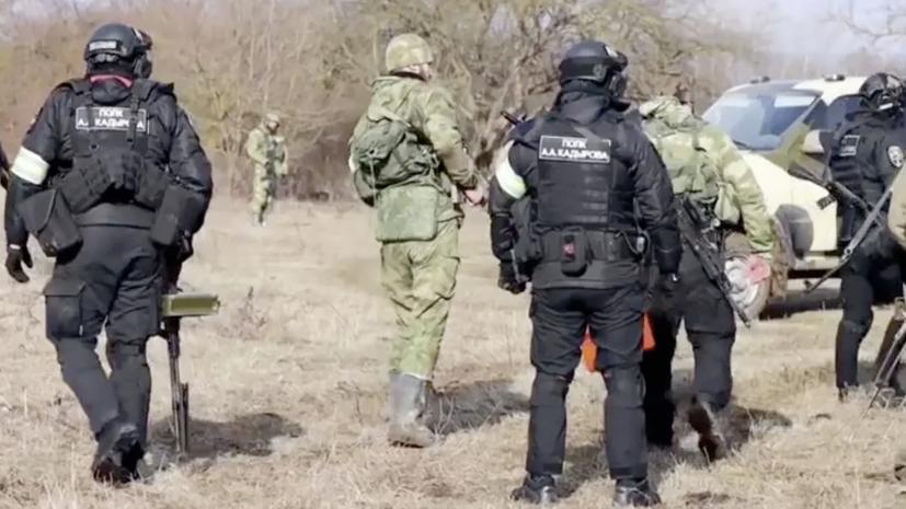 В составе ликвидированной в Чечне группировки