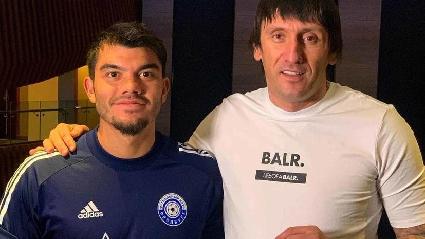 Украинский футболист объявил о переходе в «Оренбург»